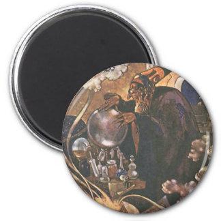 Vintage Fairy Tale, Aladdin and the Magic Lamp Magnet