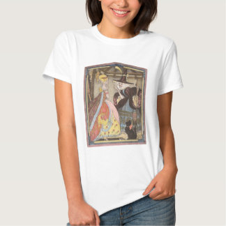 Vintage Fairy Tale, Cinderella and Fairy Godmother T Shirt