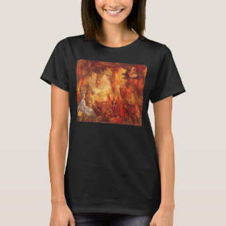 Vintage Fairy Tale The Captive Robin by Fitzgerald T-Shirt
