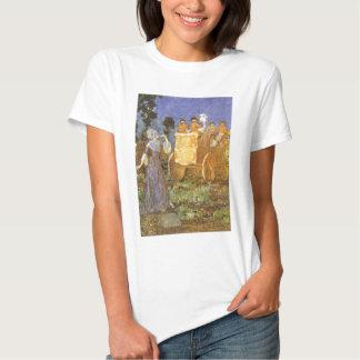 Vintage Fairy Tales Cinderella and Fairy Godmother Tshirt