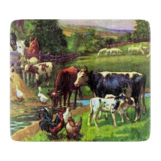 Vintage Farm Cutting Boards