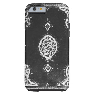 Vintage faux leather embellished book cover tough iPhone 6 case