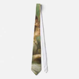 Vintage Fine Art, Young Girls at Piano by Renoir Tie