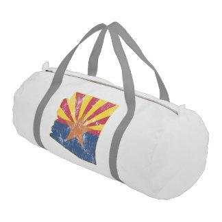 Vintage Flag Arizona State Flag Gym Bag