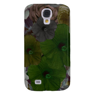Vintage Floral Collage Galaxy S4 Case