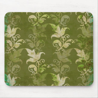Vintage Floral Fabric Mousepads - Great Gift Idea