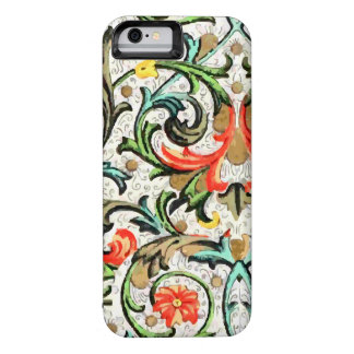 Vintage Floral Pattern iPhone