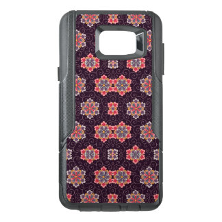 Vintage Floral Purple Background Colorful Flowers OtterBox Samsung Note 5 Case
