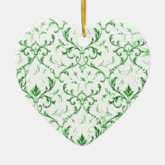 Vintage Floral Scrolls Ornament