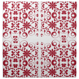 Vintage floral shabby and chic pattern napkins