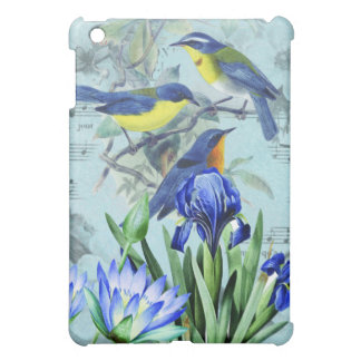Vintage Floral Songbirds Apparel and Gifts Case For The iPad Mini