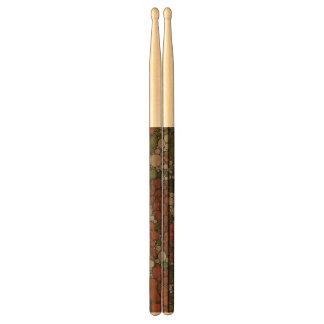 Vintage Floral Texture Abstract Drumsticks