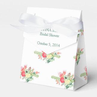 Vintage Floral Wedding Shower Favor Box Wedding Favour Box