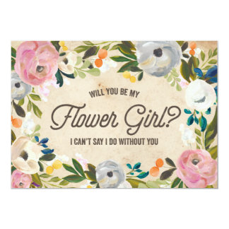 Browse Zazzle flower Girl invitation templates and customise with your own text, photos or designs.