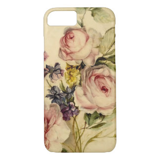 Vintage Florals from 18th Century iPhone 7 Case