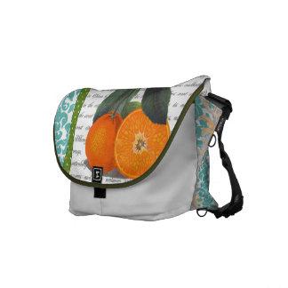 Vintage Florida Orange Fruit bag Commuter Bags