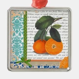 Vintage Florida Orange Fruit ornament
