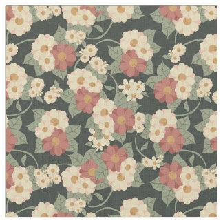 Vintage Flower Garden Fabric