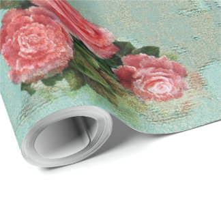 Vintage Flower Paper - Wrapping Paper