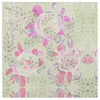 Vintage Flower print with contemporary twist