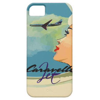 Vintage french ads (Caravelle jet) Case For The iPhone 5