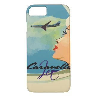 Vintage french ads (Caravelle jet) iPhone 7 Case
