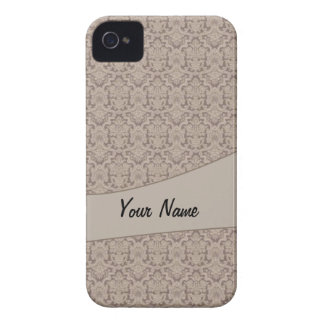 Vintage French background C2 iPhone 4 Cases