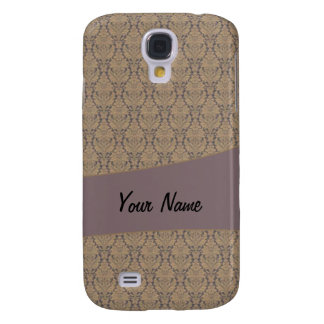 Vintage French background c3 Galaxy S4 Cases