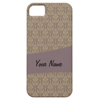 Vintage French background c3 Case For The iPhone 5
