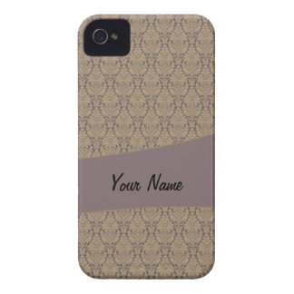 Vintage French background c3 Case-Mate iPhone 4 Case