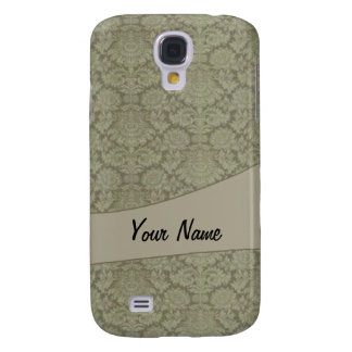 Vintage French background Galaxy S4 Case