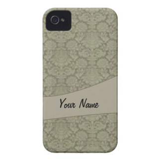 Vintage French background Case-Mate iPhone 4 Cases