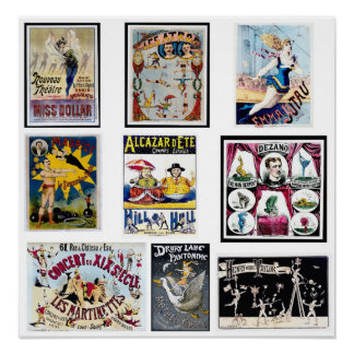 Vintage French Circus Posters