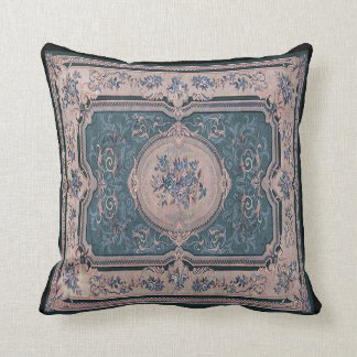 Vintage French Fabric Panel Pillow