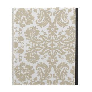 Vintage french floral art nouveau pattern iPad case