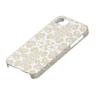 Vintage french floral art nouveau pattern iPhone 5 cover