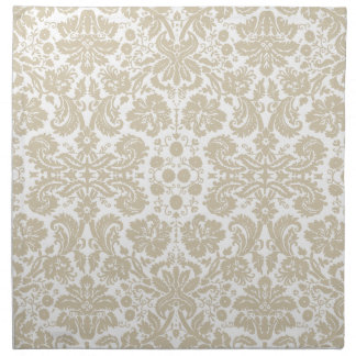 Vintage french floral art nouveau pattern cloth napkins