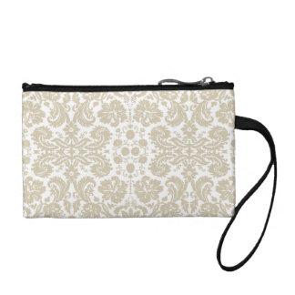 Vintage french floral art nouveau pattern coin purse