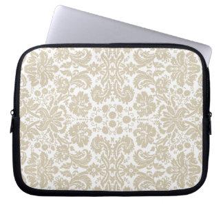 Vintage french floral art nouveau pattern laptop computer sleeve