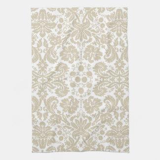 Vintage french floral art nouveau pattern towel