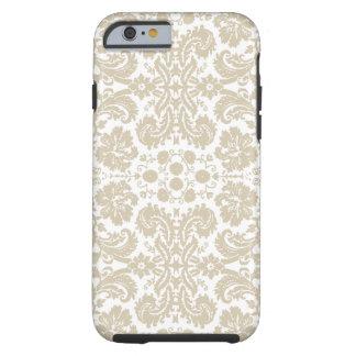 Vintage French floral inspired art nouveau Tough iPhone 6 Case