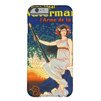 Vintage French Fountain Pen Advertisement 1919 Barely There iPhone 6 Case