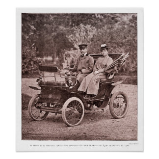 Vintage French Motoring Archival Print