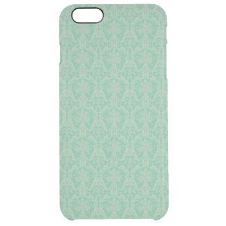 Vintage French Ornamental Wallpaper Clear iPhone 6 Plus Case
