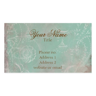 Vintage French Toile Custom Business Cards
