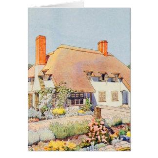 Vintage Garden Art - Kay, Claud J. Card