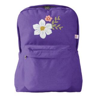 Vintage Garden Backpack, Amethyst Backpack