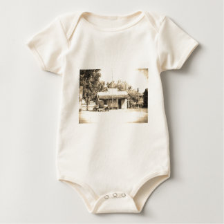 Vintage General Store with Antique Auto Baby Bodysuit