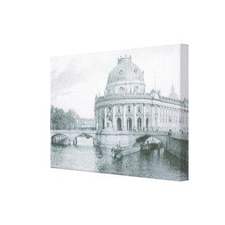 Vintage Germany, Berlin, Kaiser Frederik Museum Canvas Print