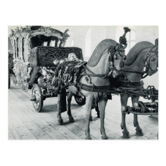 Vintage Germany, Munich, Imperial State Carriage Postcard